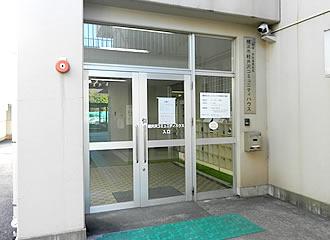 軽井沢小学校コミュニティセンター外観の写真